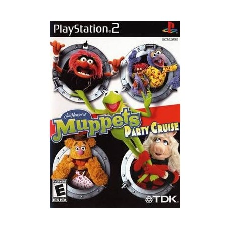 Muppets party cruise Play Station 2