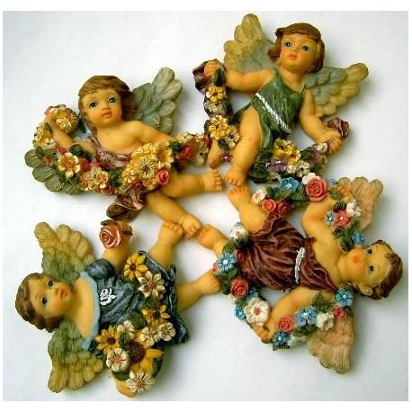 Conjunto figuras ángeles