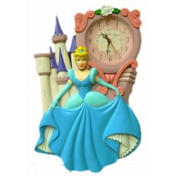 Reloj pared princesas disney