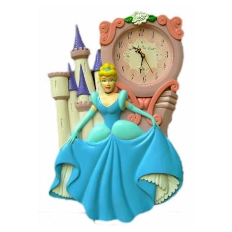 Reloj pared princesas disney