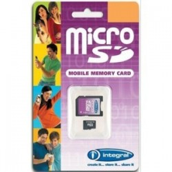 Tarjeta Micro SD Integral 2GB