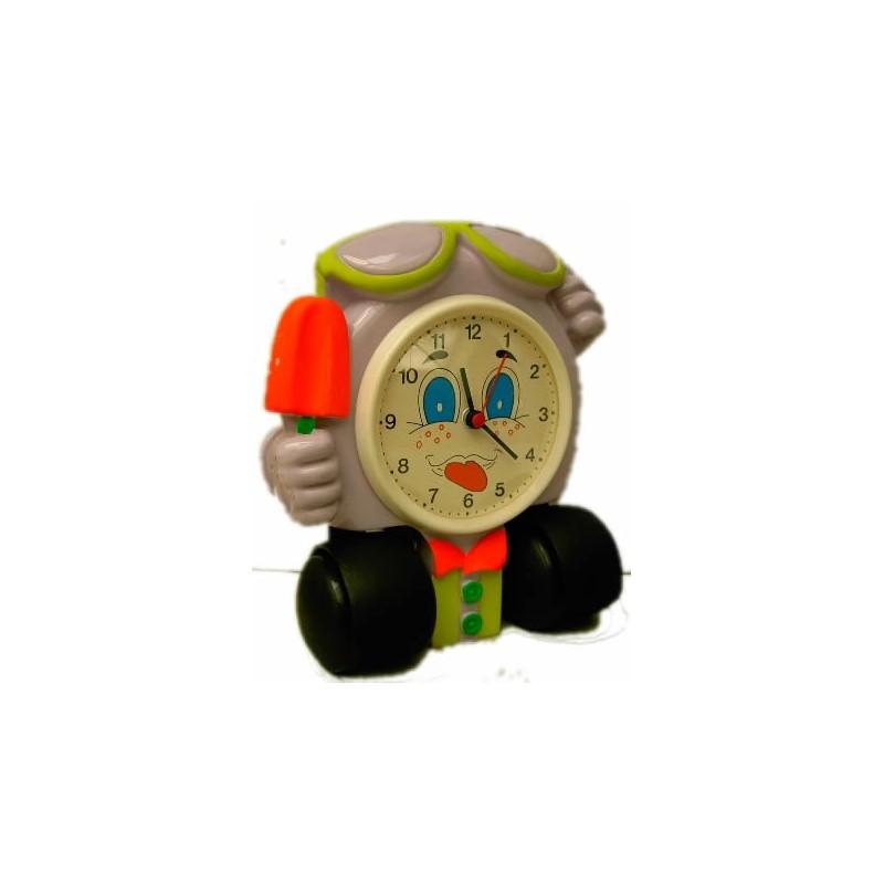 Reloj ni o decoraci n con ruedas - Decoracion con ruedas ...