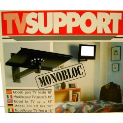 """Soporte para televisión 16"""" orientable"""