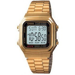 Reloj Casio Dorado A178WGA-1A