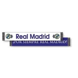 Bufanda Real Madrid doble Blanca