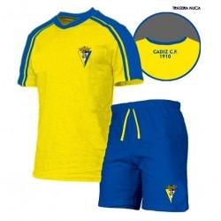 Pijama verano Cádiz Club de Fútbol adulto