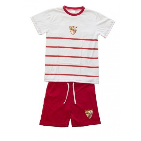 Pijama Sevilla Fútbol Club verano adulto