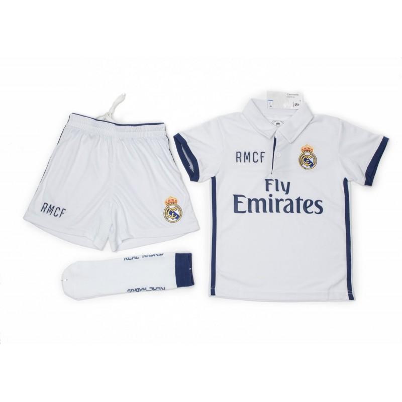37739b250c628 La imagen se está cargando Equipacion-Real-Madrid-nino-camiseta -pantalon-y-medias-