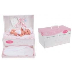 Muñeco toneta bebé recién nacido baúl de Antonio Juan