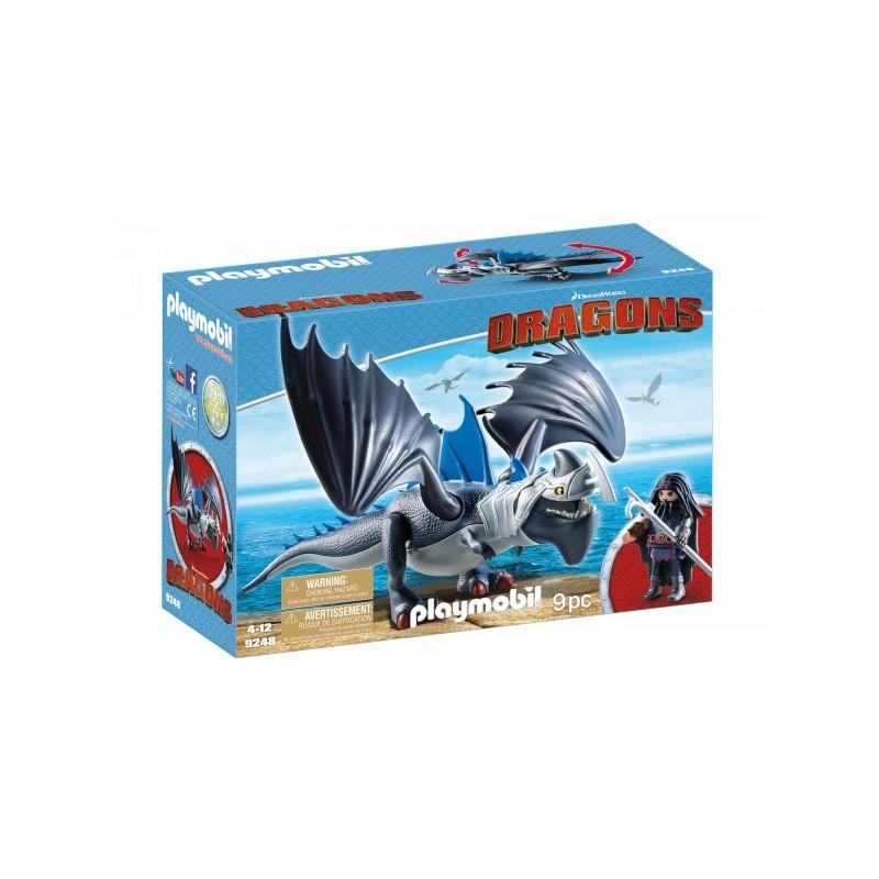 Playmobil 9248 Drago y Dragón con Armadura PL9248