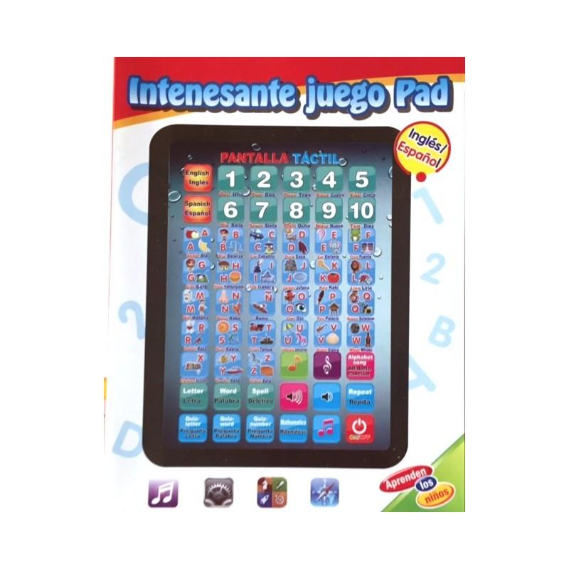 Tablet Juguete Bilingue Espanol E Ingles Comprar Lectron Juegos