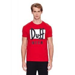 Camiseta cerveza DUFF The Simpsons adulto roja