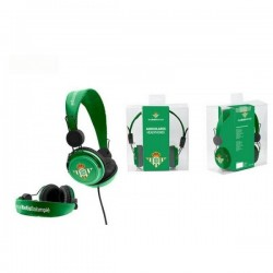 Auriculares cascos del Real Betis Balompié