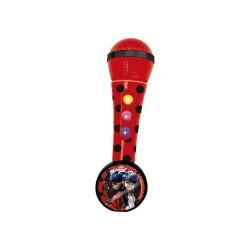 Ladybug micrófono con amplificador y ritmos