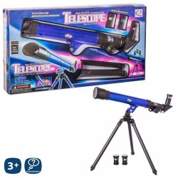 Juguete Telescopio con trípode extensible y 3 lentes