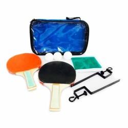 Conjunto ping pong raquetas red y pelotas