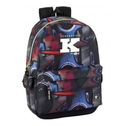 Mochila grande 46cm adaptable a carro de Kelme Graffiti