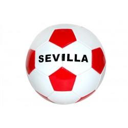 Balón blanco y rojo Sevilla