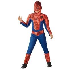 Mascara de Héroe y super lanza redes de Spiderman