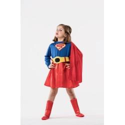 Disfraz super heroes niña Super Woman tallas 5 a 12 años