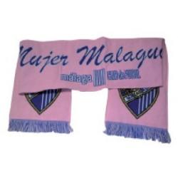 Bufanda del Málaga Club de Fútbol Rosa para mujer