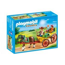 Playmobil 6932 Carruaje con Caballo