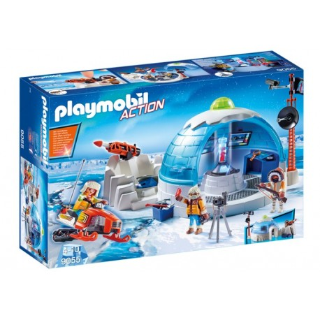 Playmobil 9055 Cuartel Polar de Exploradores