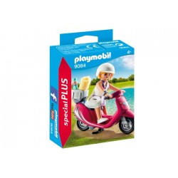 Playmobil 9084 Mujer con Scooter
