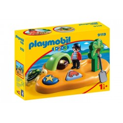 Playmobil 9119 1.2.3 Isla Pirata