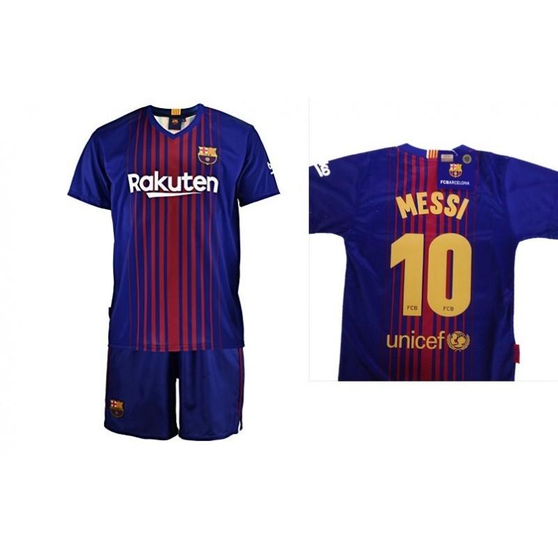 8dad0556eccdf Equipación FC Barcelona niño TER STEGEN camiseta pantalón tallas 6 a 14