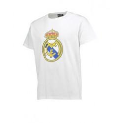 Camiseta Real Madrid Adulto escudo producto oficial