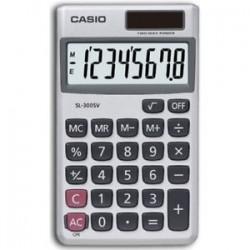 Calculadora Casio Sl-300SV con funda 8 dígitos solar
