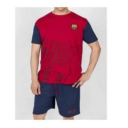 Pijama Fútbol Club Barcelona verano talla XL