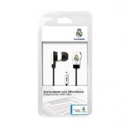 Real Madrid auricular de botón con micrófono