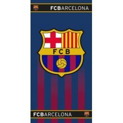 Toalla Fútbol Club Barcelona 70x140cm algodón