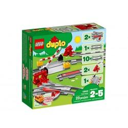 LEGO DUPLO Town 10882 Vías...