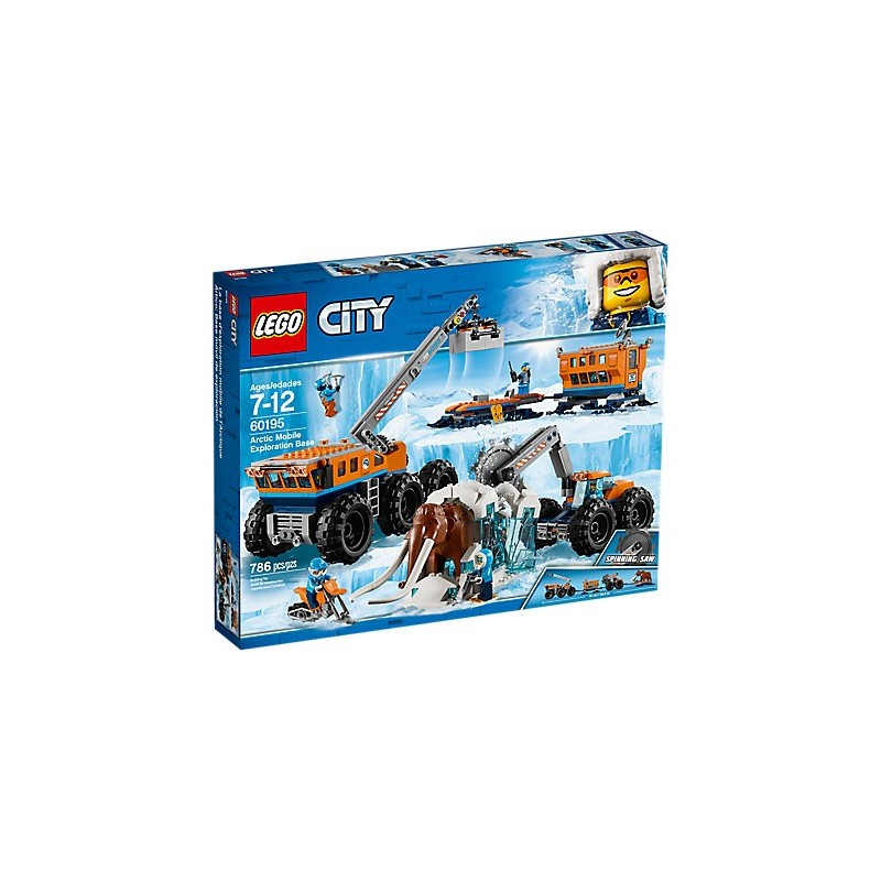 LEGO City Arctic Expedition 60195 Ártico  Base móvil de exploración 18L60195