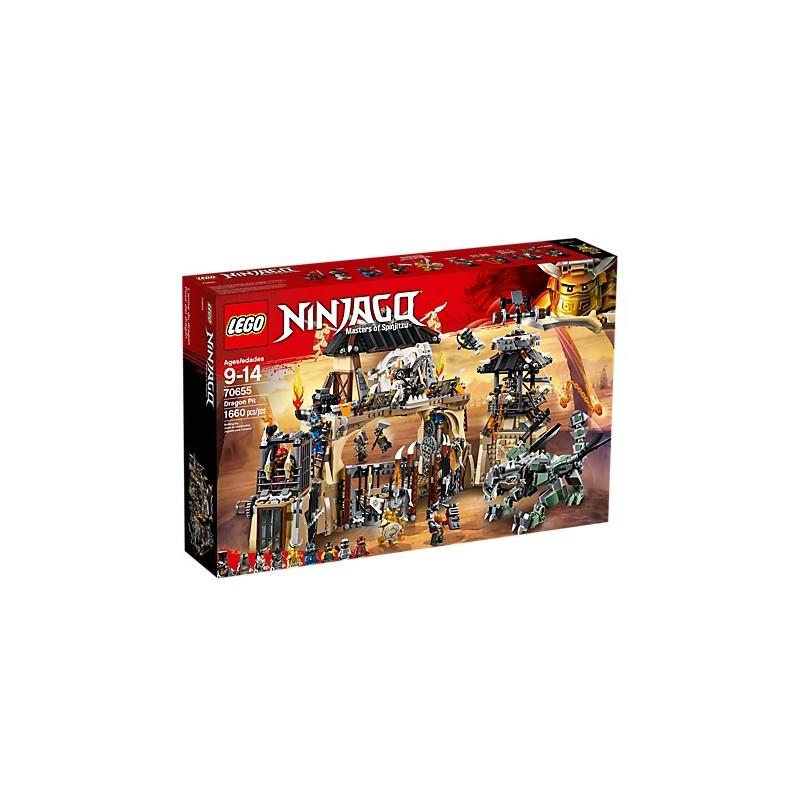 LEGO NINJAGO 70655 Pozo del dragón 18L70655