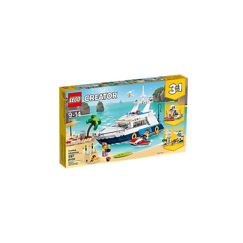 LEGO Creator 31083 Aventuras en yate 18L31083
