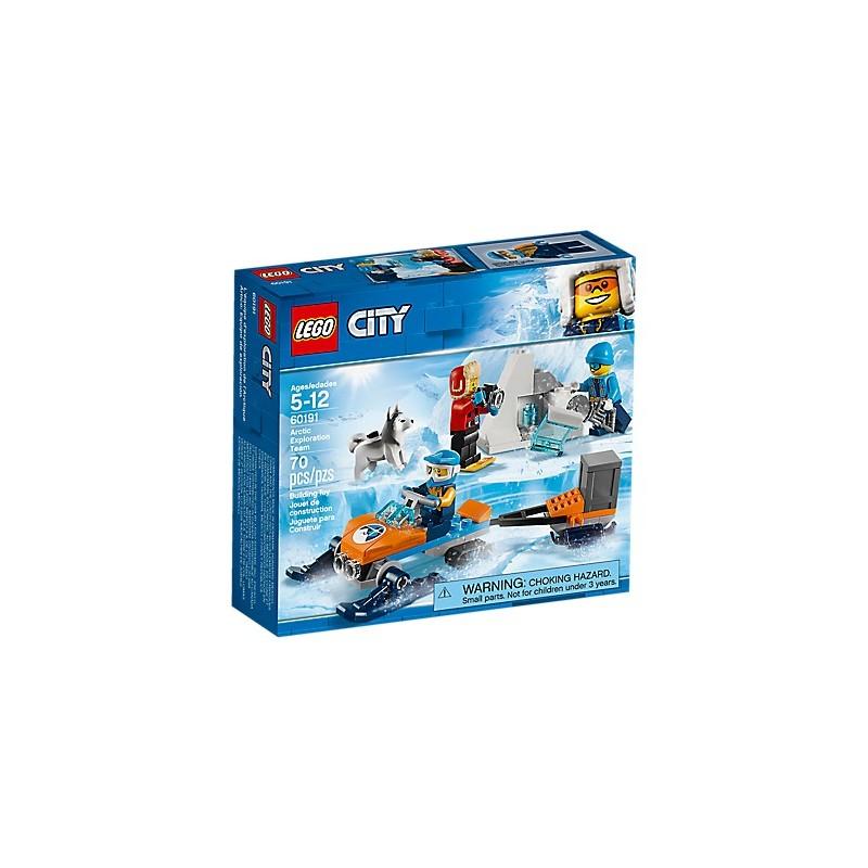 LEGO City Arctic Expedition 60191 Ártico: Equipo de exploración 18L60191