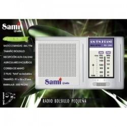 Radio transistor Sami RS2909 AM/FM 9x2x5,5cm