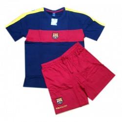 Pijama Fútbol Club Barcelona verano manga corta talla 12