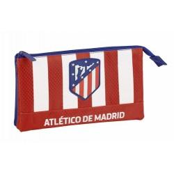 Estuche portatodo triple de Atletico De Madrid