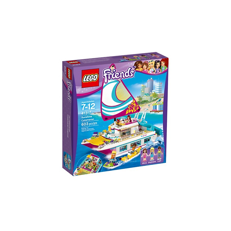 LEGO Friends 41317 Catamarán tropical 18L41317
