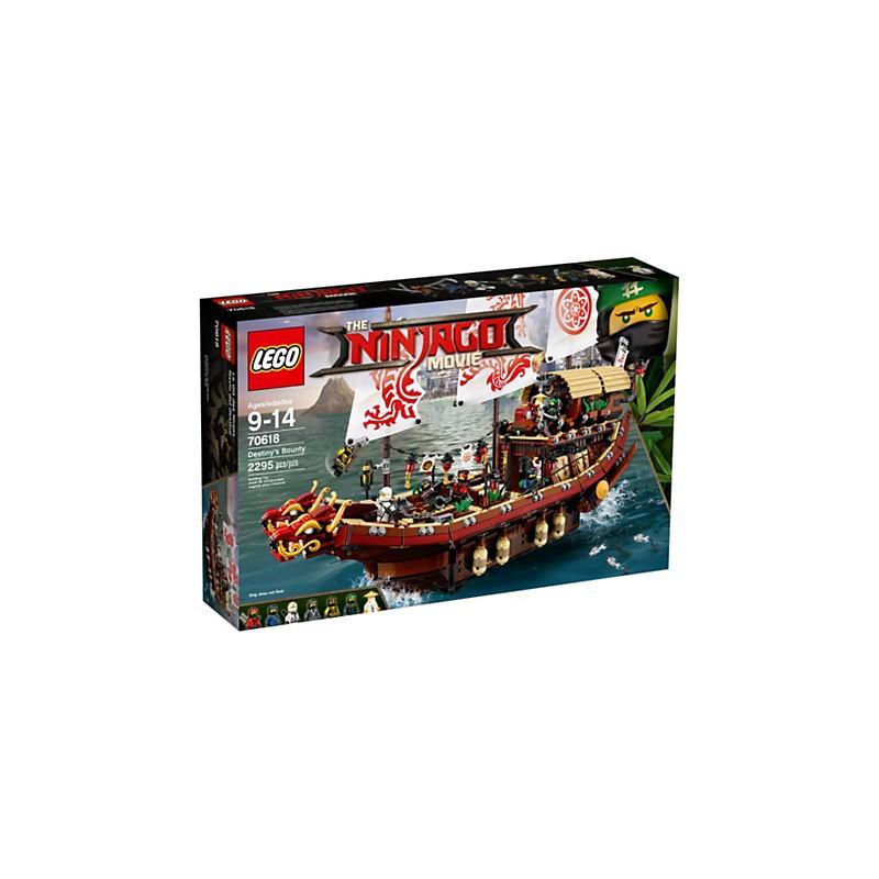 THE LEGO NINJAGO Movie 70618 Barco de asalto ninja 18L70618