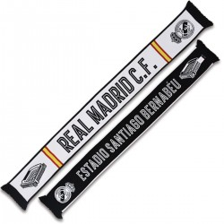 Bufanda Real Madrid doble REYES DE EUROPA morada
