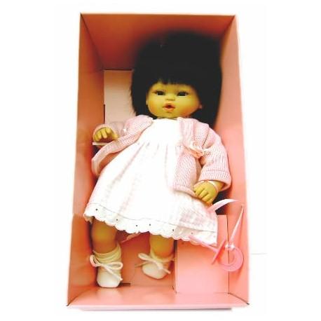 Bebe muñeca chinita de Arias