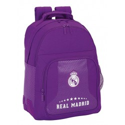 Mochila doble grande 42cm adaptable a carro de Real Madrid