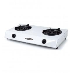 Hornillo Orbegozo cocina Gas dos fuegos con triple corona F02600