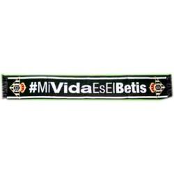 Bufanda Real Betis Balompié Mi Vida es El Betis